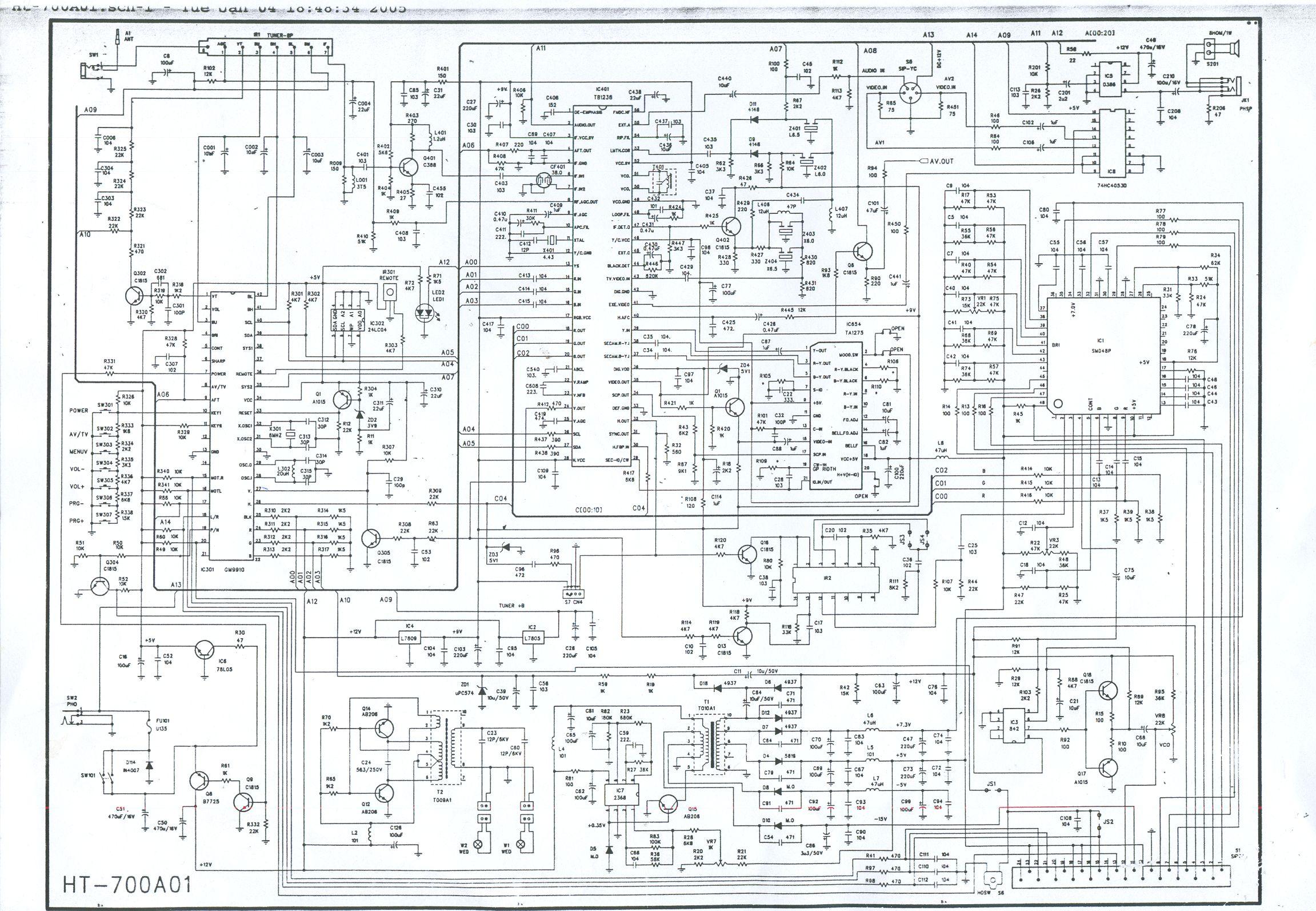 coson btv 100 схема