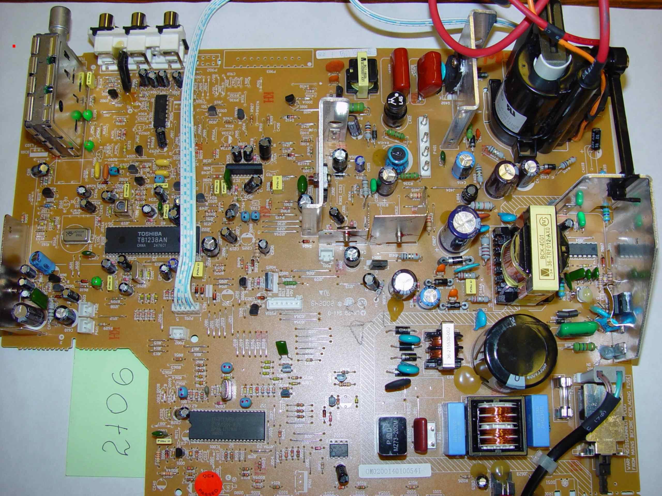 ремонт телевизора avest 54тц 03