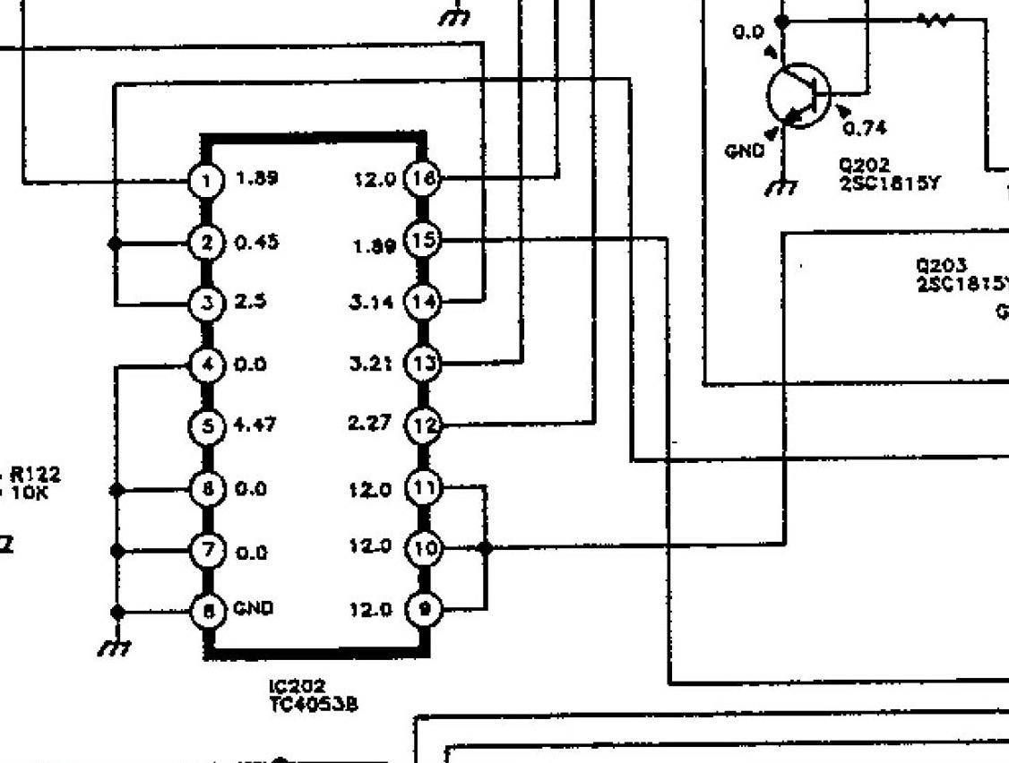 функціональна схема електрон 54тк-726
