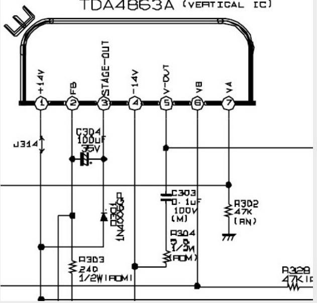 LG CT-29M65VE шасси MC-049a не