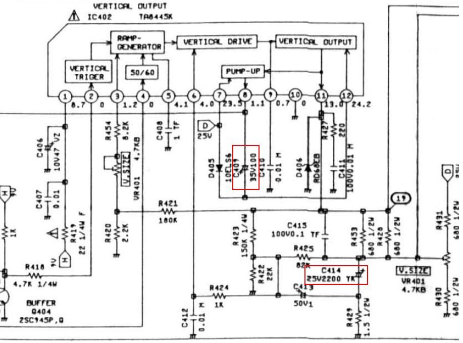 Схема panasonic tx 2150ts.