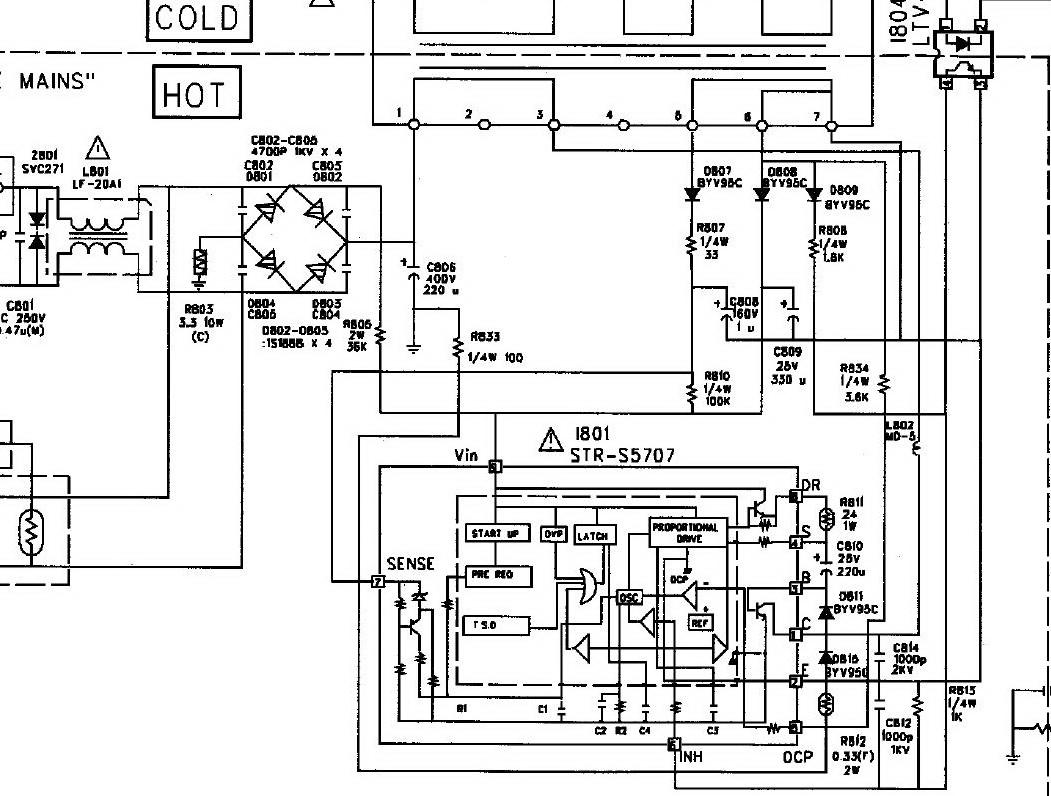 Схема daewoo cp 370