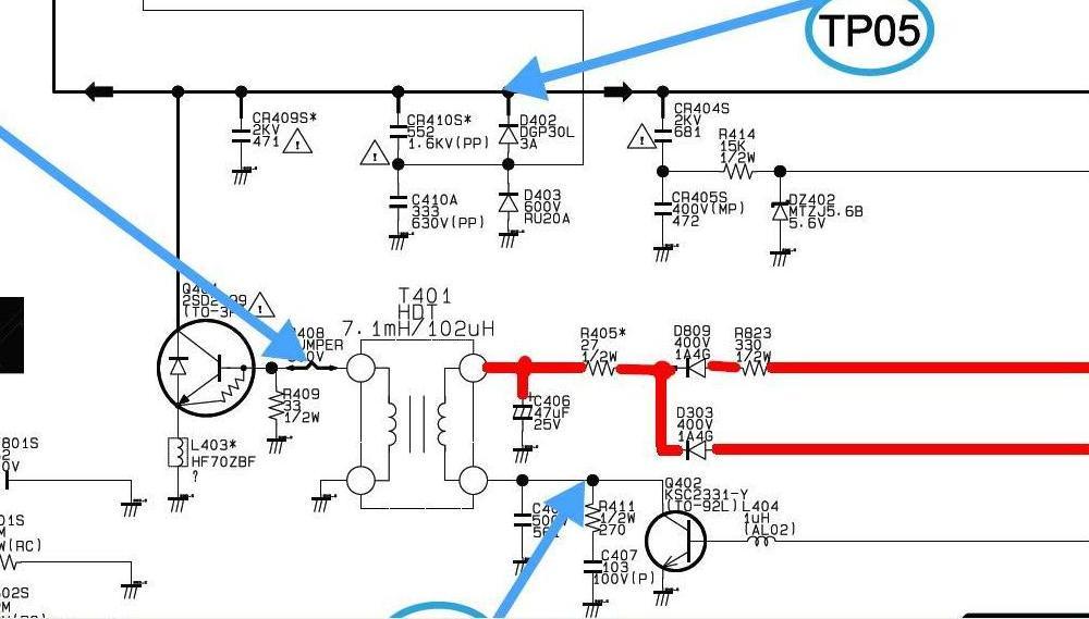 Samsung cs 21k30mjq схема